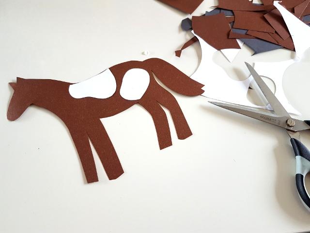 Zum kostenlos ausdrucken einladungskarten pferde Hufeisen Malvorlagen