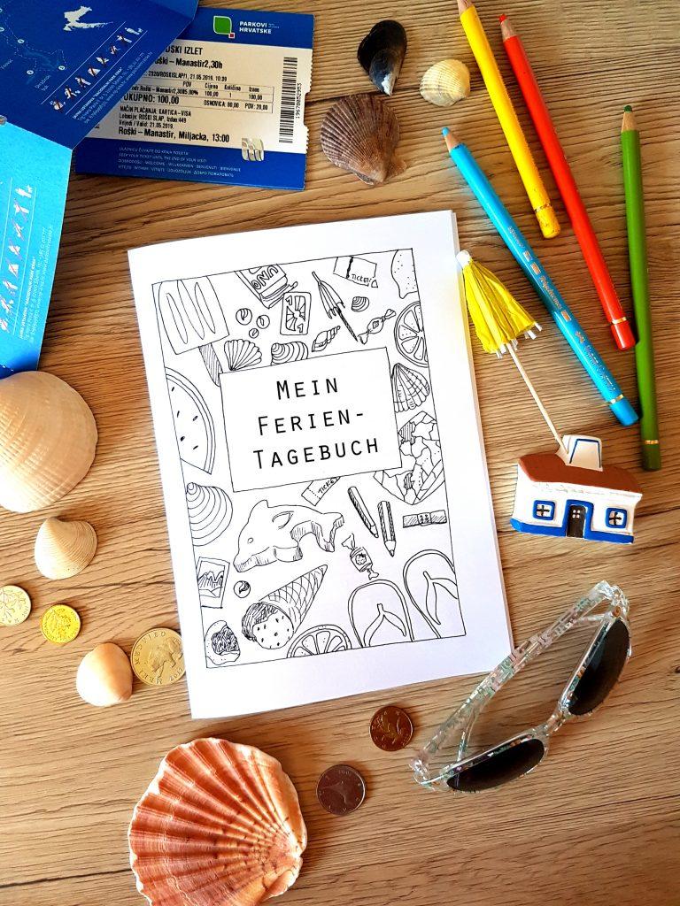 Ferientagebuch für Kinder