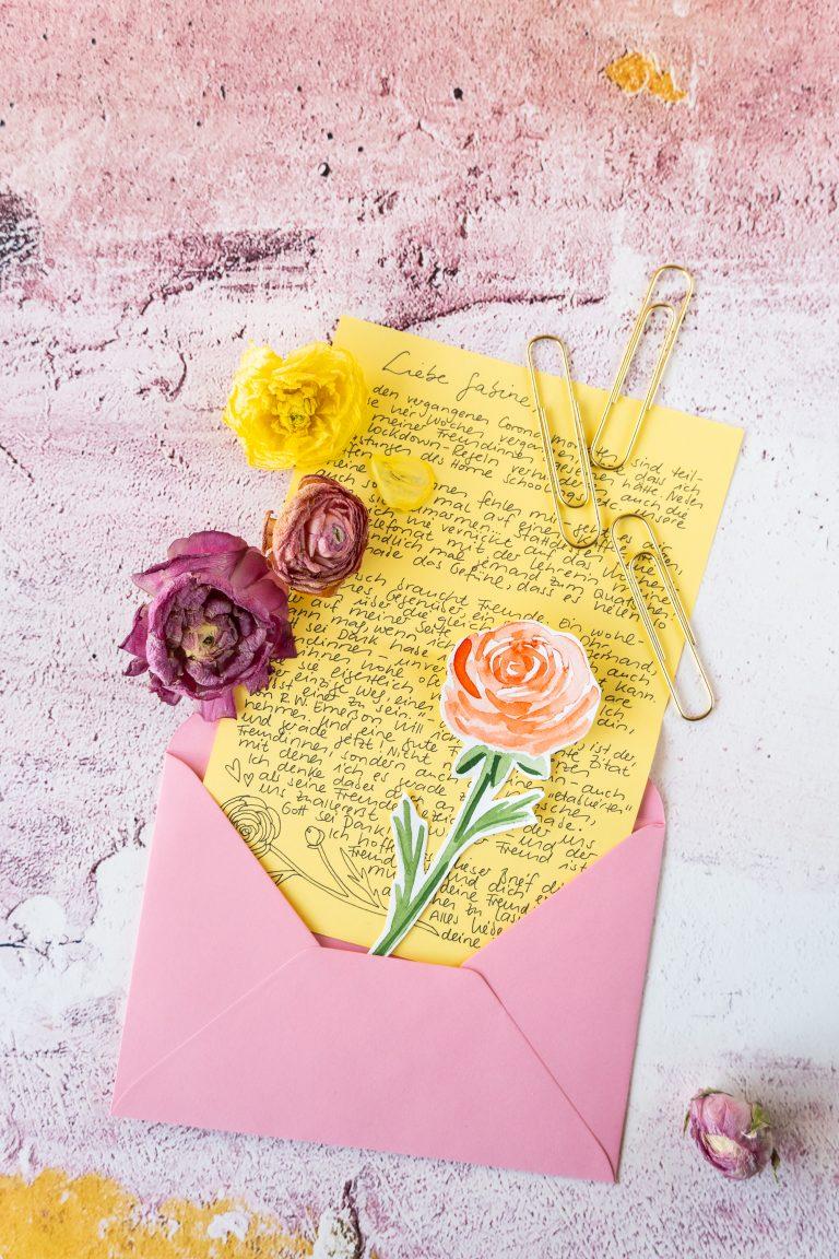 ... handgeschrieben und persönlich, ...