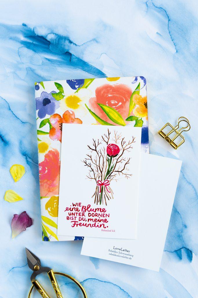Postkarte Freundschaft-6